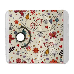 Spring Floral Pattern With Butterflies Galaxy S3 (Flip/Folio)