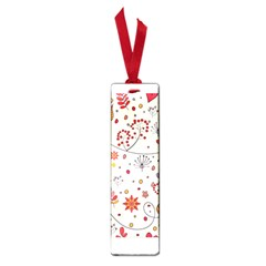 Spring Floral Pattern With Butterflies Small Book Marks
