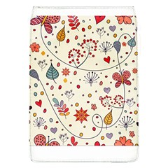 Spring Floral Pattern With Butterflies Flap Covers (L)