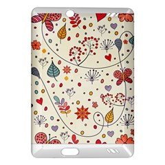 Spring Floral Pattern With Butterflies Amazon Kindle Fire HD (2013) Hardshell Case