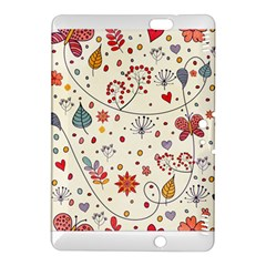 Spring Floral Pattern With Butterflies Kindle Fire HDX 8.9  Hardshell Case