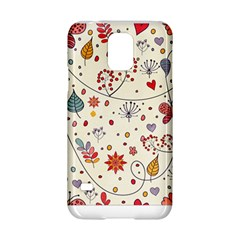 Spring Floral Pattern With Butterflies Samsung Galaxy S5 Hardshell Case