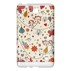 Spring Floral Pattern With Butterflies Samsung Galaxy Tab 4 (8 ) Hardshell Case