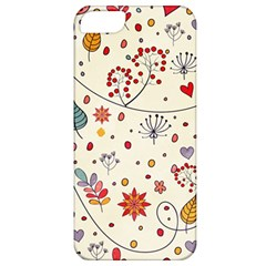 Spring Floral Pattern With Butterflies Apple iPhone 5 Classic Hardshell Case