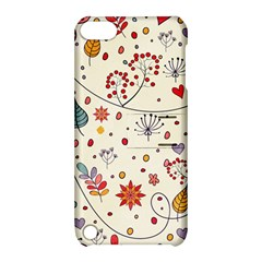Spring Floral Pattern With Butterflies Apple iPod Touch 5 Hardshell Case with Stand