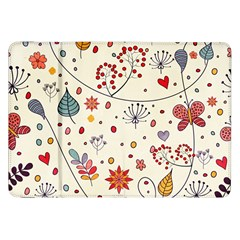 Spring Floral Pattern With Butterflies Samsung Galaxy Tab 8.9  P7300 Flip Case
