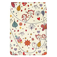 Spring Floral Pattern With Butterflies Flap Covers (S)