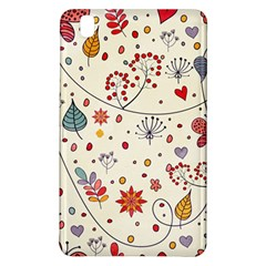 Spring Floral Pattern With Butterflies Samsung Galaxy Tab Pro 8.4 Hardshell Case