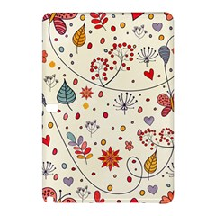 Spring Floral Pattern With Butterflies Samsung Galaxy Tab Pro 12.2 Hardshell Case