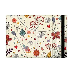 Spring Floral Pattern With Butterflies iPad Mini 2 Flip Cases