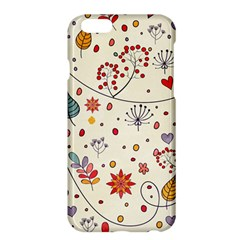 Spring Floral Pattern With Butterflies Apple iPhone 6 Plus/6S Plus Hardshell Case