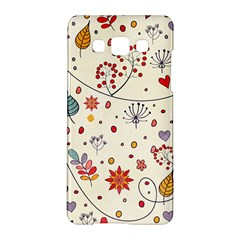Spring Floral Pattern With Butterflies Samsung Galaxy A5 Hardshell Case