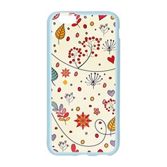 Spring Floral Pattern With Butterflies Apple Seamless iPhone 6/6S Case (Color)