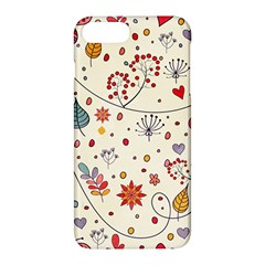 Spring Floral Pattern With Butterflies Apple Iphone 7 Plus Hardshell Case
