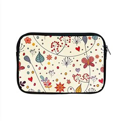 Spring Floral Pattern With Butterflies Apple Macbook Pro 15  Zipper Case