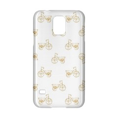 Retro Bicycles Motif Vintage Pattern Samsung Galaxy S5 Hardshell Case