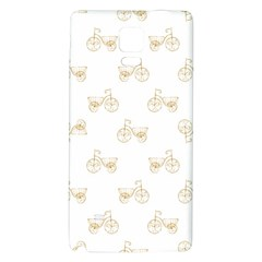 Retro Bicycles Motif Vintage Pattern Galaxy Note 4 Back Case