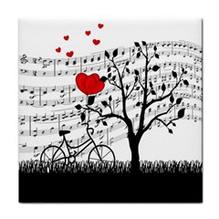 Love song Tile Coasters