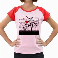 Love song Women s Cap Sleeve T-Shirt
