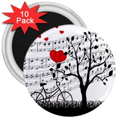 Love song 3  Magnets (10 pack)