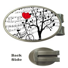 Love song Money Clips (Oval)
