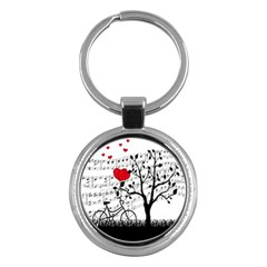 Love song Key Chains (Round)