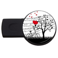 Love song USB Flash Drive Round (1 GB)