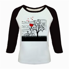 Love Song Kids Baseball Jerseys