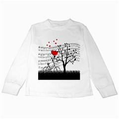 Love song Kids Long Sleeve T-Shirts