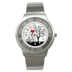 Love song Stainless Steel Watch