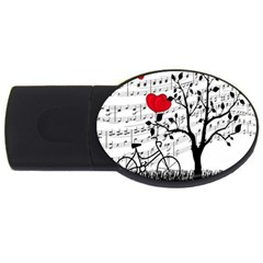 Love song USB Flash Drive Oval (4 GB)