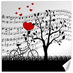Love song Canvas 16  x 16