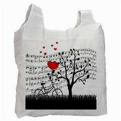 Love song Recycle Bag (One Side)