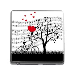 Love song Memory Card Reader (Square)
