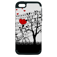 Love song Apple iPhone 5 Hardshell Case (PC+Silicone)