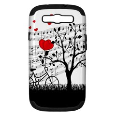 Love song Samsung Galaxy S III Hardshell Case (PC+Silicone)