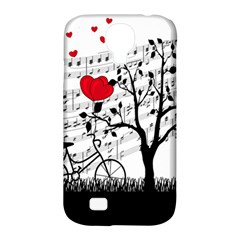 Love song Samsung Galaxy S4 Classic Hardshell Case (PC+Silicone)