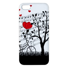 Love song iPhone 5S/ SE Premium Hardshell Case