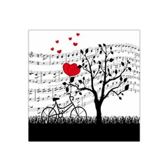 Love song Satin Bandana Scarf