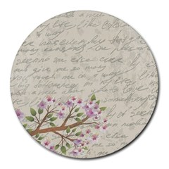 Cherry blossom Round Mousepads