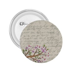 Cherry blossom 2.25  Buttons