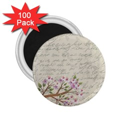 Cherry blossom 2.25  Magnets (100 pack)