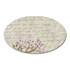 Cherry blossom Oval Magnet