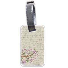 Cherry blossom Luggage Tags (One Side)