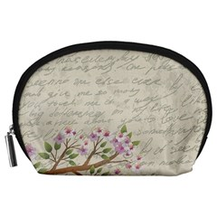 Cherry blossom Accessory Pouches (Large)