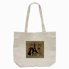 Love letter - Paris Tote Bag (Cream)