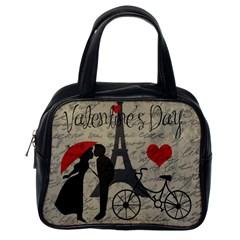 Love letter - Paris Classic Handbags (One Side)