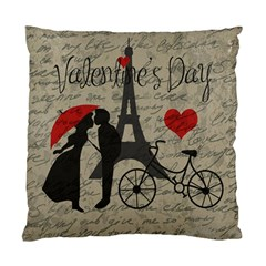 Love letter - Paris Standard Cushion Case (Two Sides)
