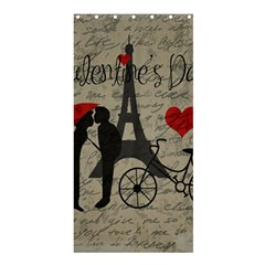 Love letter - Paris Shower Curtain 36  x 72  (Stall)