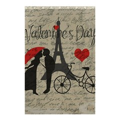 Love letter - Paris Shower Curtain 48  x 72  (Small)
